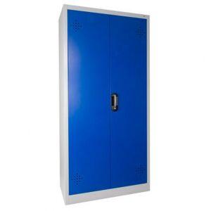 Trionyx Armoire de sûreté pour produits dangereux - Haute 2 portes bleues Trionyx AZ300B - Publicité