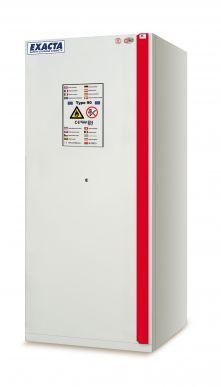 EXACTA Armoire de sécurité anti-feu 90 minutes haute 1 porte L 900 pour produits inflammables - EN 14470-1 et EN 16121 EXACTA EOF240MY11D