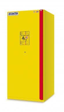EXACTA Armoire de sécurité anti-feu 90 minutes haute 1 porte L 900 pour produits inflammables - étagères acier - EN 14470-1 et EN 16121 EXACTA EOF240BMY11JD