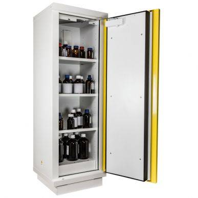 Trionyx Armoire de sécurité EN 14470-1 - 105 minutes pour produits inflammables - haute 1 porte jaune Trionyx 794+PJE