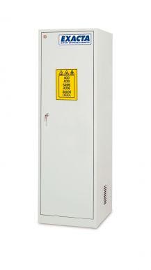 EXACTA Armoire de sécurité haute 1 porte pour produits chimiques - 1 compartiment - Ouverture gauche - EN 16121 EXACTA EO103P/G