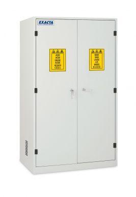 EXACTA Armoire de sécurité haute 2 portes pour produits chimiques - 1 compartiment - EN 16121 EXACTA EOB120