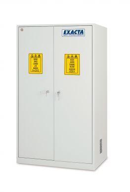 EXACTA Armoire de sécurité haute 2 portes pour produits chimiques - 2 compartiments - EN 16121 EXACTA EO106P/2C
