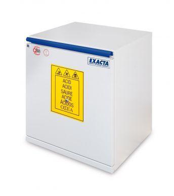 EXACTA Armoire de sécurité sous-paillasse 1 porte L 500 pour produits acides - EN 16121 EXACTA EO605AG