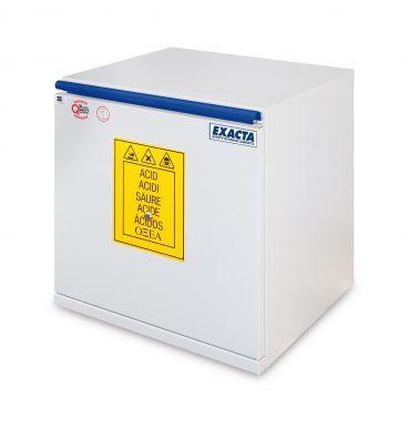 EXACTA Armoire de sécurité sous-paillasse 1 porte L 600 pour produits acides - Ouverture tiroir - EN 16121 EXACTA EO706AT