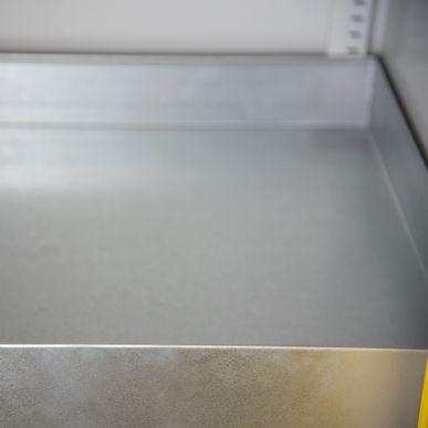 Trionyx Armoire de sûreté pour produits dangereux - Haute 2 portes jaunes Trionyx AZ300