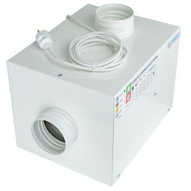 Trionyx Caisson de filtration équipé d'un filtre à charbon actif pour vapeurs organiques et corrosives - Débit 86 m3/h Trionyx CDF-ACORG