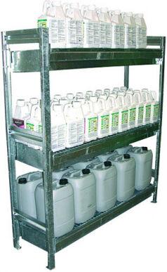 Axe Environnement Armoire phytosanitaires Étagère 3 niveaux EXCELA ETAG3N1