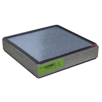 Trionyx Filtre à charbon actif polyvalent pour vapeurs organiques et corrosives pour caisson H50C Trionyx CORG51