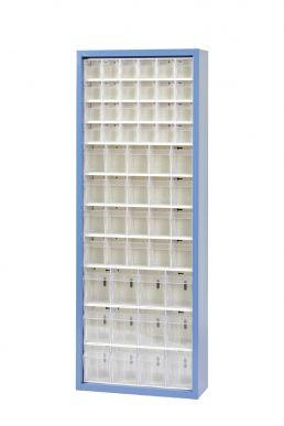 Hünersdorff Magasin MultiStore 56 Tôle d'acier émaillée au four, gris clair Hünersdorff 466257