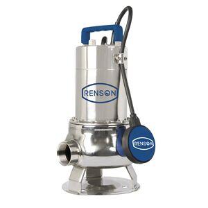 Renson POMPE DE RELEVAGE 230V 0,6KW INOX EAUX CHARGEES Renson 111046 - Publicité