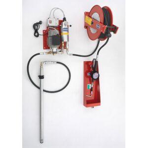 Flexbimec Kit de distribution d'huile électrique 230V à membrane pour fûts de 208l avec système automatique d'échappement d'air Flexbimec 2974MID - Publicité