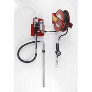 Flexbimec Kit de distribution d'huile pneumatique pour fûts de 208 l avec système d'échappement d'air automatique Flexbimec 2985MID - Publicité