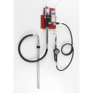 Flexbimec Kit de distribution d'huile pneumatique pour fûts de208 l avec système d'échappement d'air automatique Flexbimec 2987MID - Publicité