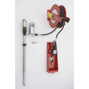 Flexbimec Kit de distribution d'huile pneumatique pour fûts de 208 l avec système d'échappement d'air automatique Flexbimec 2992MID - Publicité