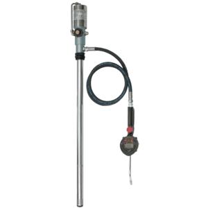 OMPI Kit pneumatique de distribution d'huile fixe pour les fûts de 208 l - avec débitmètre OMPI 31856 - Publicité