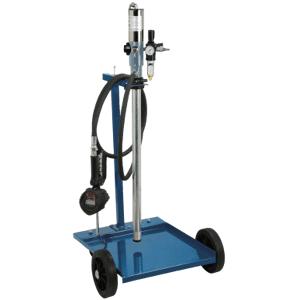 OMPI Kit pneumatique de distribution d'huile mobile de 208 l/60 l - avec débitmètre OMPI 31370 - Publicité