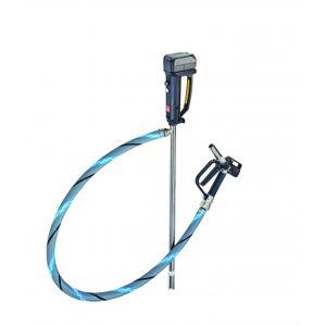 Lutz-Jesco Kit pompe vide-fûts inox pour grand débit avec moteur, tuyau et pistolet Lutz Jesco 0207-051 - Publicité