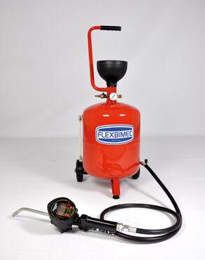 Flexbimec Distributeur d'huile pneumatique avec pistolet compteur mod