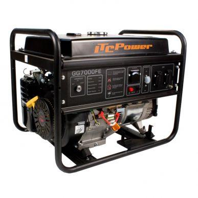 ITC Power Groupe électrogène Essence 5.5Kw 230V Monophasé démarrage électrique ITC Power GG7000FE