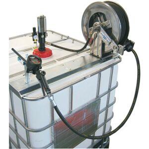 Flexbimec Kit de transfert AdBlue avec pompe pneumatique en acier - débit 15 l / min, tuyau de 15 m, Pistolet de distribution, débitmètre, régulateur de pressio 6751 - Publicité