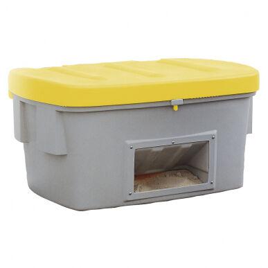 Asecos Bac à sable/sel de 100 litres en polyéthylène (Plastique), avec ouverture d'écoulement 13393