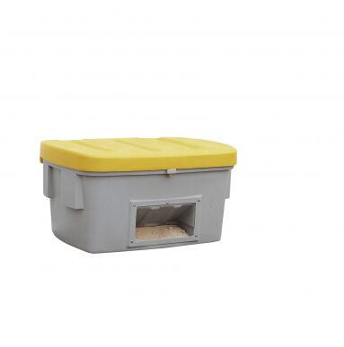 Asecos Bac à sable/sel de 550 litres en polyéthylène (Plastique), avec ouverture d'écoulement 13365