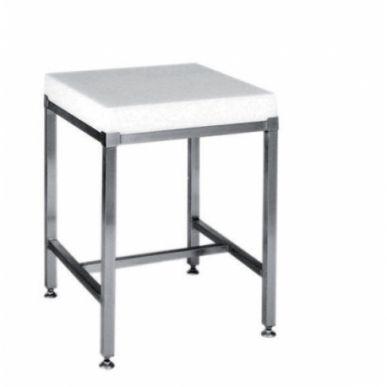 Distrib'Inox TABLE BILLOT DE BOUCHERIE PREMIUM BILLOT BOIS 500X500XHt900 Distrib'Inox BBC5050