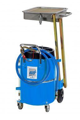 Algi Equipements récupérateur d'huile mobile 65 l spécial moto Algi 07791450