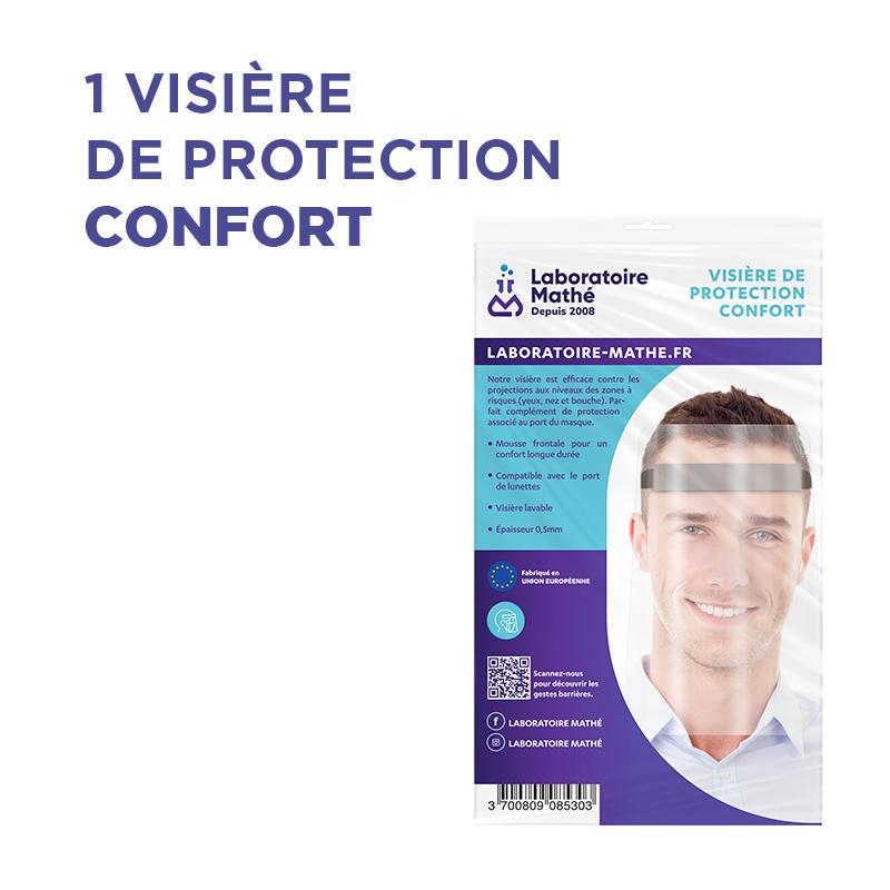 Laboratoire Mathe VISIÈRE DE PROTECTION - CONFORT