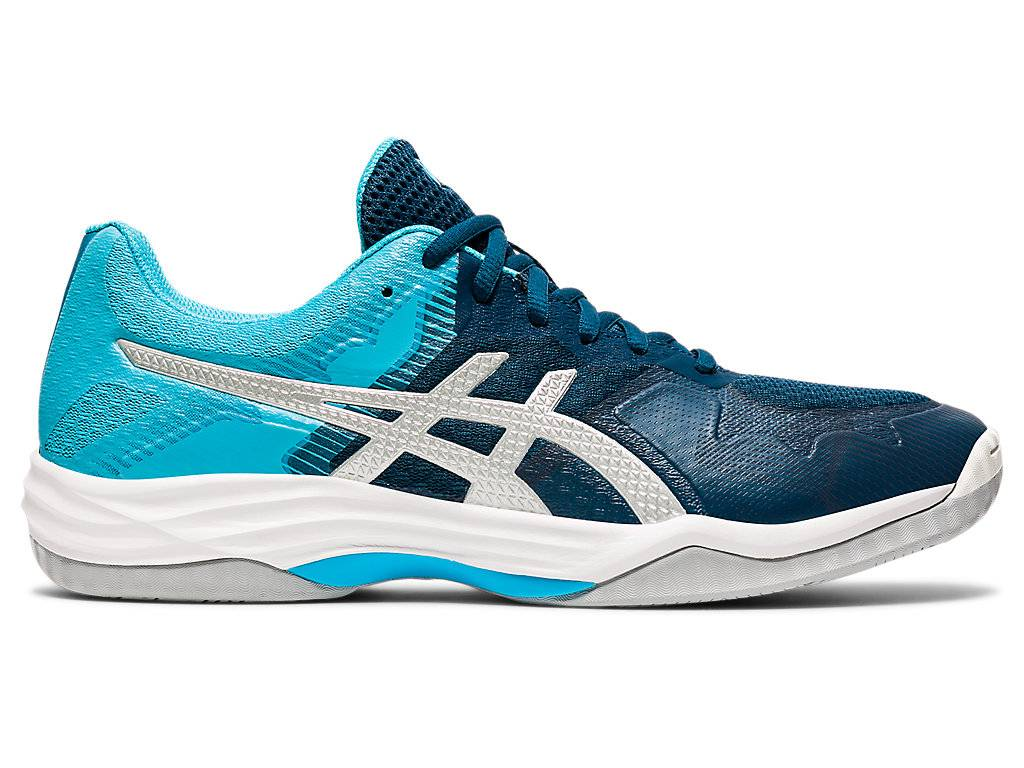 Asics Gel - Tactic™ Mako Blue / Pure Silver Hommes Taille 39.5