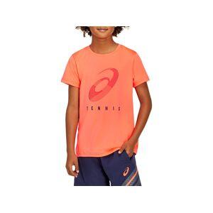 Asics Practice B Spiral T Sunrise Red Enfants Taille L - Publicité