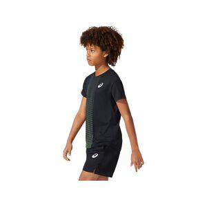 Asics Boys Tennis Graphic Ss Top Performance Black Enfants Taille S - Publicité