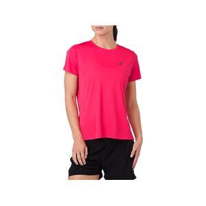Asics Silver Ss Top Pixel Pink Femmes Taille S - Publicité