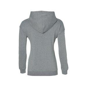 Asics Big  Oth Hoodie Mid Grey Heather / Dark Grey Femmes Taille S - Publicité