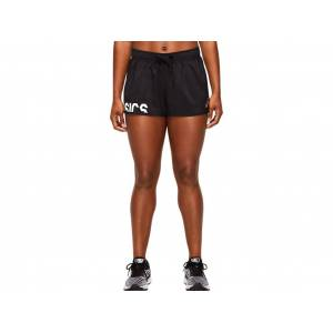Asics Prfm Short Performance Black / Brilliant White Femmes Taille XS - Publicité