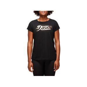 Asics Logo Graphic Tee Performance Black Femmes Taille XS - Publicité