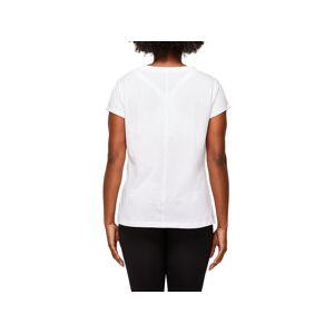 Asics Logo Graphic Tee Brilliant White Femmes Taille S - Publicité