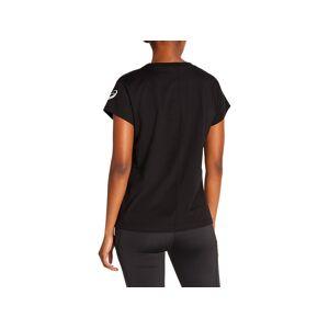 Asics Graphic Tee I Performance Black Femmes Taille L - Publicité