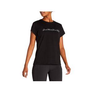 Asics Graphic Tee I Performance Black Femmes Taille S - Publicité