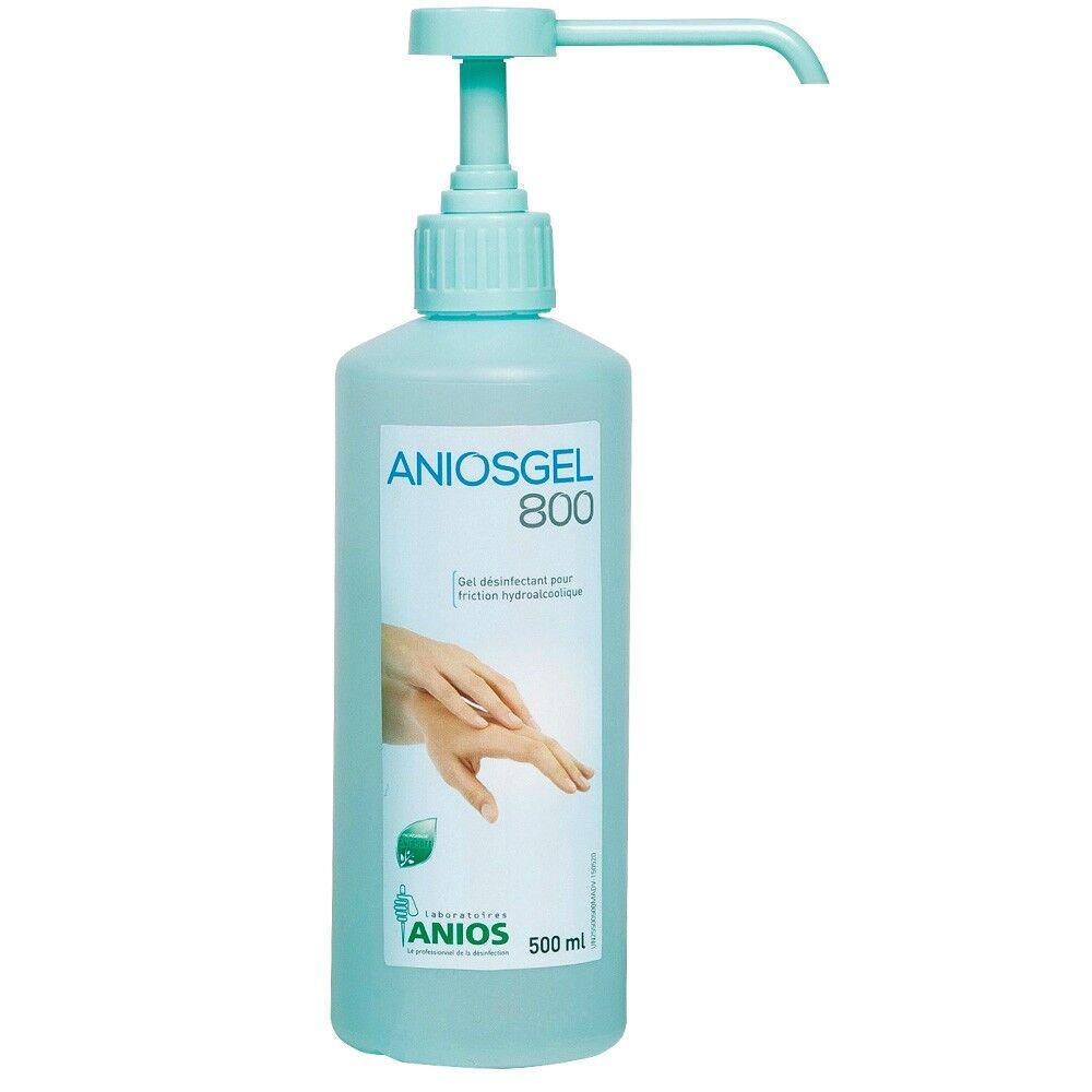 GEL HYDROALCOOLIQUE 500 ML ANIOSGEL 800