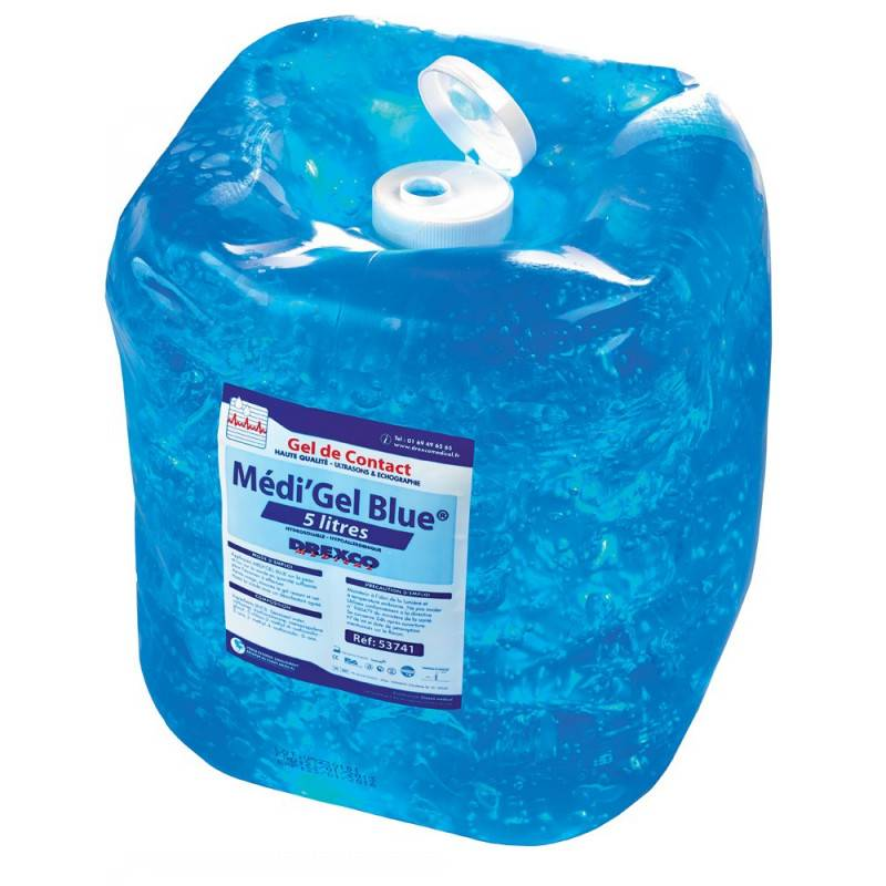 GEL ULTRASON BLEU MEDI'GEL 5 L