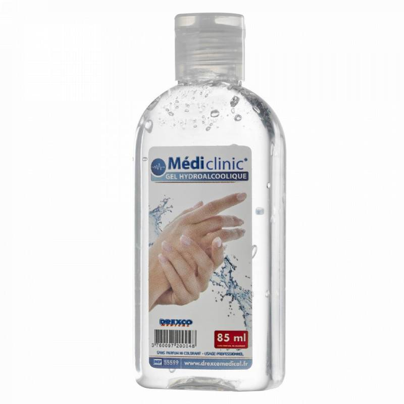 GEL HYDROALCOOLIQUE 85ML MEDI'MAINS