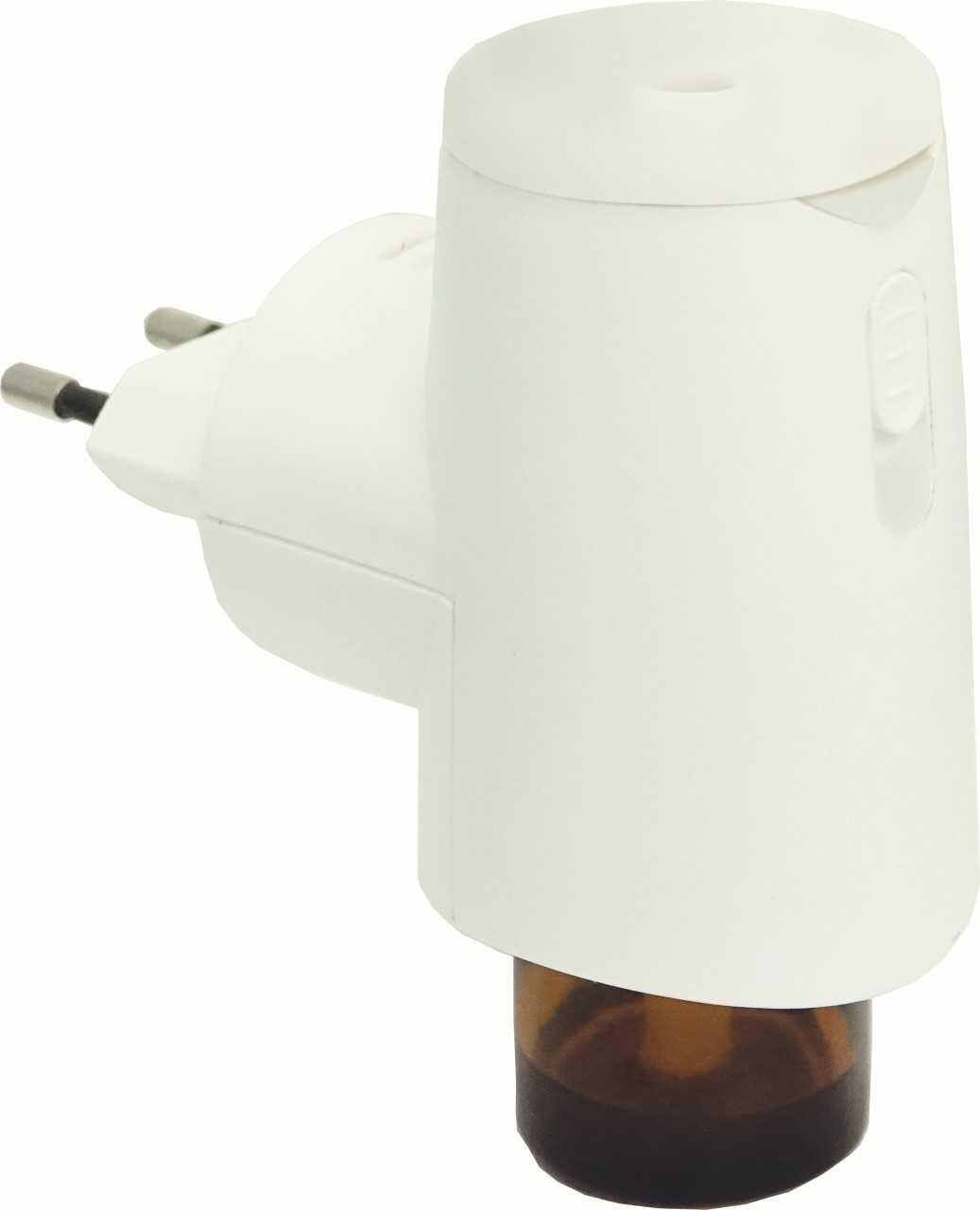 FLORAME Diffuseur prise d'huiles essentielles ultrasonique blanc