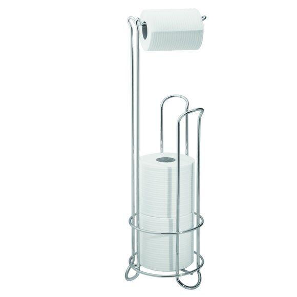 INTERDESIGN Porte papier de toilette et support rouleaux de papier