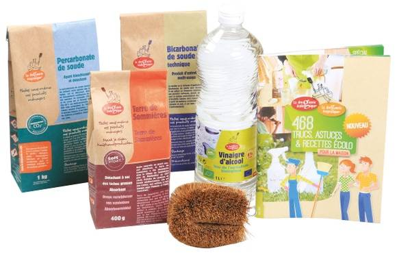 ECODIS Kit découverte droguerie écologique 3kg
