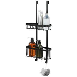 SENSEA Double panier de douche Neo noir - Publicité