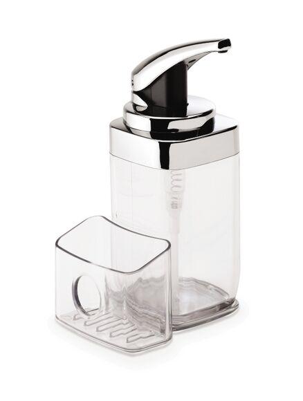 SIMPLEHUMAN Distributeur savon avec rangement amovible 650ml