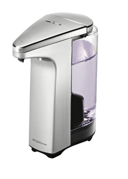 SIMPLEHUMAN Distributeur de savon liquide infrarouge inox 225ml