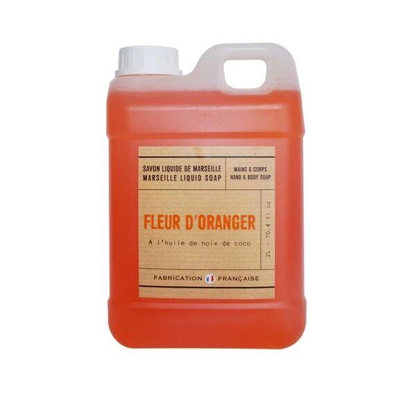 Pas de marque Savon liquide à la fleur d'oranger 2l